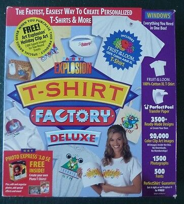 The T-Shirt Factory DeLuxe