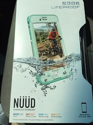 New Lifeproof Nuud Series Waterproof Case for iPhone 6s Plus Undertow