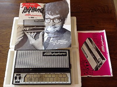 Vintage Original Rolf Harris Stylophone With Instructions