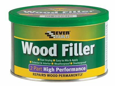 Everbuild - Wood Filler High Performance 2 Part Light Stainable 1.4kg