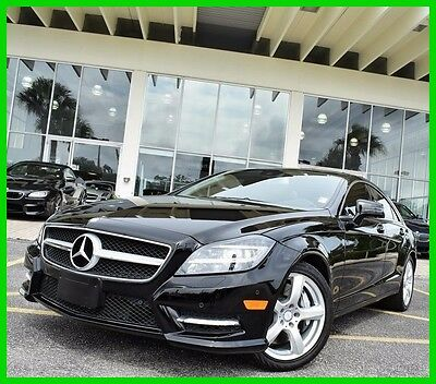 2014 Mercedes-Benz CLS-Class CLS550 2014 CLS550 Used Turbo 4.7L V8 32V Automatic RWD Sedan Premium Moonroof