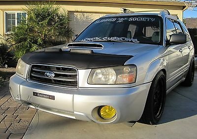 SUBARU FORESTER 2003 2004 2005 Custom Bra Car Hood Mask / Bonnet Bra