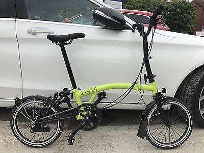 Brompton M6L Lime ***black Edition*** 2017 ***mint Condition***