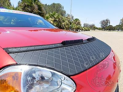 HONDA CRX DEL SOL 92 93 94 95 96 97 98 Custom Hood Bra in DIAMOND Style