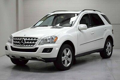 2009 Mercedes-Benz M-Class 4Matic Sport Utility 4-Door 2009 MB ML350 One Owner Accident Free Carfax only 68k miles AWD