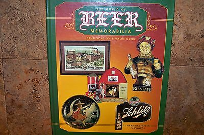 """Identification an Value Guide on""""The World of Beer Memorabilia"""" by Herb an Helen"""