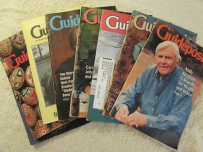Lot of Guideposts Magazines 1992-1998