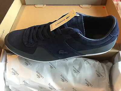 Brand New Lacoste Turnier Men's Casual Trainers Size UK 10/EUR 44.5