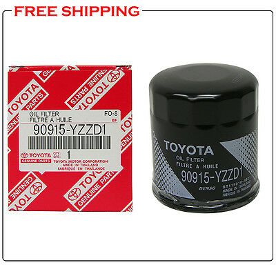 3 x TOYOTA OEM Engine-Oil Filter 90915-YZZD1 for 4Runner Camry Tacoma