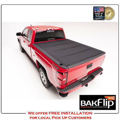 "BAKFlip MX4 Hard Folding Tonneau Cover for 15-17 Ford F-150 5'6"" Bed Cover 48329"
