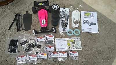 Schumacher KF2 RC 1:10 2WD Buggy Rolling Chassis Massive Spares Great Condition