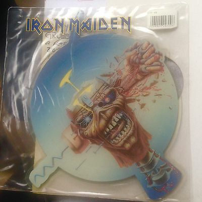 Iron Maiden - SHAPED PICTURE DISC: Can I Play With Madness (1988) VG++ Vinyl