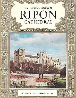 Pride of Britain Books 1950-60's The Pictorial History of Ripon Cathedral