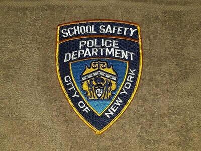 New York - NYC School Safety Police Shoulder Patch