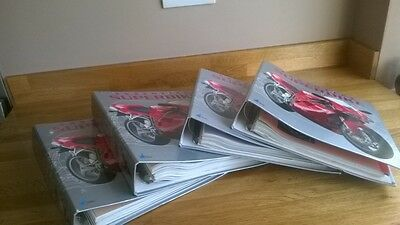 Essential Superbike Fact File, 1-51 Magazines.  With Folders.