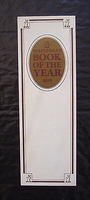 Whitbread Book Of The Year 1985 ~ Vintage Bookmark