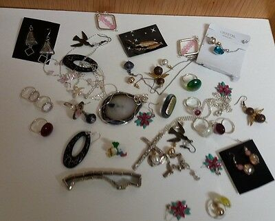 Joblot  Of  30  Mixed   Costume  Jewellery Items -   Various  Lot