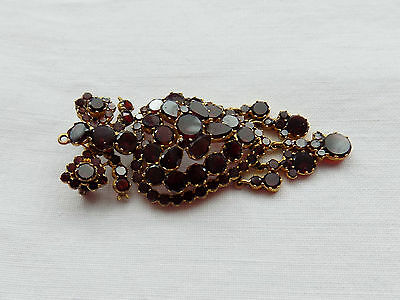 Beautiful Victorian Garnet Brooch