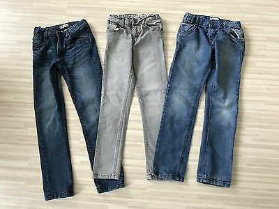 MEGA@ 3x Boys Jeans Gr. 140 slim fit NAME IT Staccato Sommer 2016 TOP