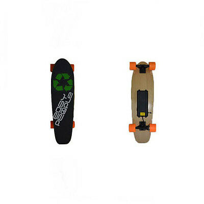 "Easy People Skateboards ""ZOOM"" E-Skateboard + Recycle  Grip Tape"
