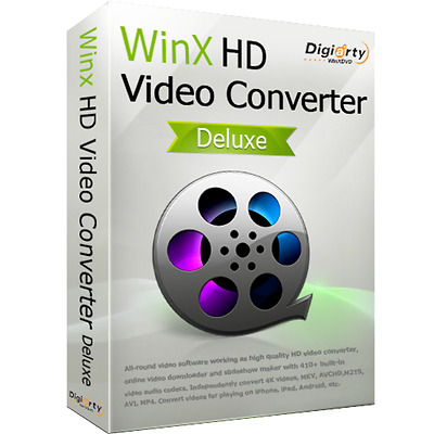 WinX HD Video Converter Deluxe Pro Licence + Software product.Same day Delivery!