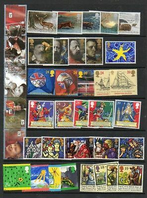 SG1587-91,1602-10/15-38 1992 COMMEMORATIVES YEAR SET ~ 9 Sets Unmounted Mint GB