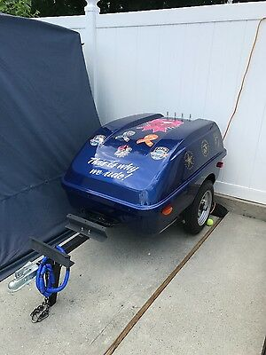2013 Matrix Rover Pull Behind Motorcycle Trailer