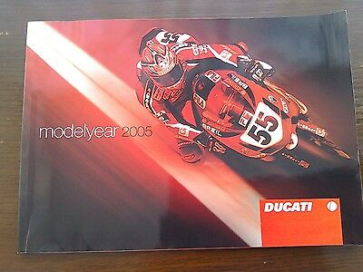 Ducati Modelyear Large Brochure Booklet 2005