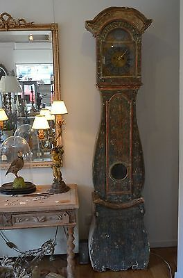 Swedish Mora Long clock late 1700's early 1800's