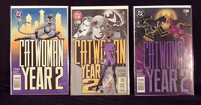 DC Comics Catwoman Year 2 Part 1-3  #38, #39, #40 full set