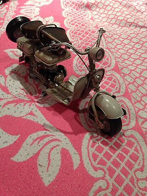 Hand Made Antique Motorcycle Model Decoration Made From Metal