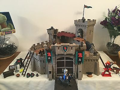 Playmobil Knights Castle. Set No. 4866. With Figures & Accessories
