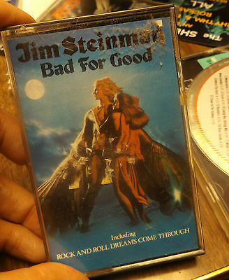 jim steinman back for good vintage cassette tape-rock-metal