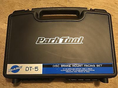 Park Tool DT-5 Disc Brake Mount Facing Set - New And Unused