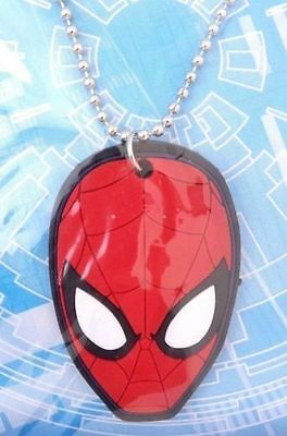 Marvel Ultimate Spider-Man Boy's Kids Men's Cool Stylish Dogtag Necklace NWT