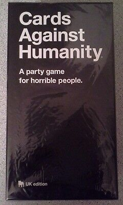 Cards Against Humanity UK edition - Brand New Sealed