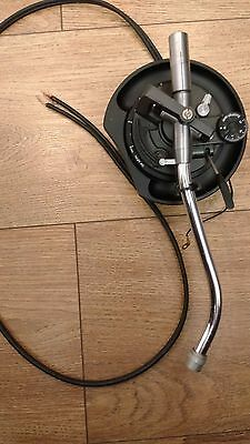 Technics Sl1210 Black Tonearm - Missing Rca Ends And Ground Wire - Video Demo