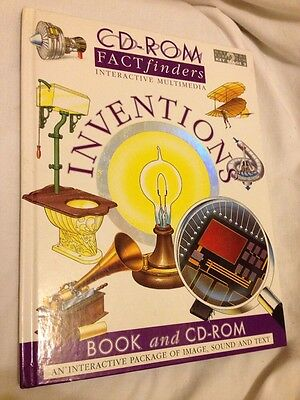 Book CD Room Fact Finders Interactive Multimedia Inventions Book