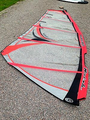 Naish Vantage 4.5 windsurf kit - sail, boom & mast foot, Great condition