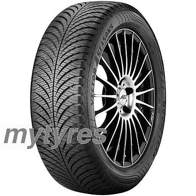2x TYRES Goodyear Vector 4 Seasons G2 205/55 R16 91H M+S
