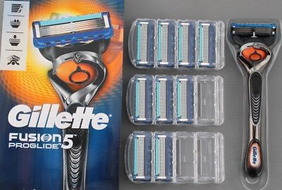Gillette Fusion 5 Proglide Or Pro Glide Power Blades Genuine Original Uk Stock,
