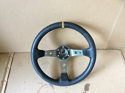 vw lupo steering wheel deep dish complete with boss drift rally
