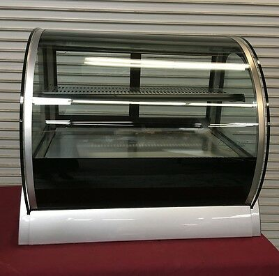 "36"" Glass Countertop Refrigerated Bakery Display Case Vollrath RDE8136 #6573"