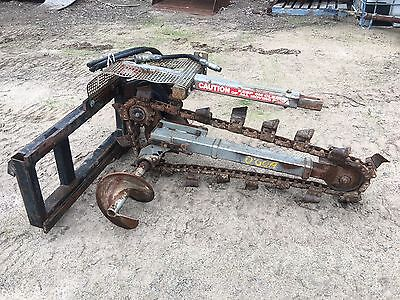 Digga Hydrive Trencher – Used – 1200Mm Depth