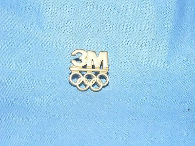Olympic Games Badge Olympics Barcelona 1992 3M Logo Pin Button Enamel