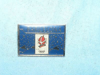 Olympic Games Badge Winter Olympics 1992 Albertville Pin Button Enamel