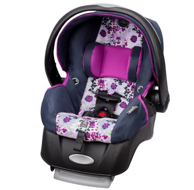 Infant Car Seat Rear Facing Safe Travel Harness Seats Lightweight Canopy Shield