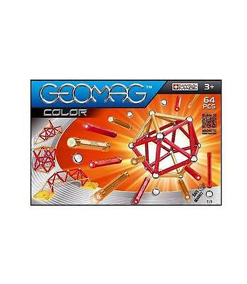 Geomag Colours 64 - Swiss made magnetic game