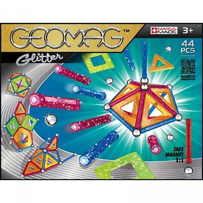 Geomag Glitter 44 - Swiss made magnetic game
