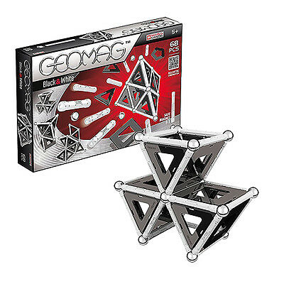 Geomag Black and White 68 - Swiss made magnetic game